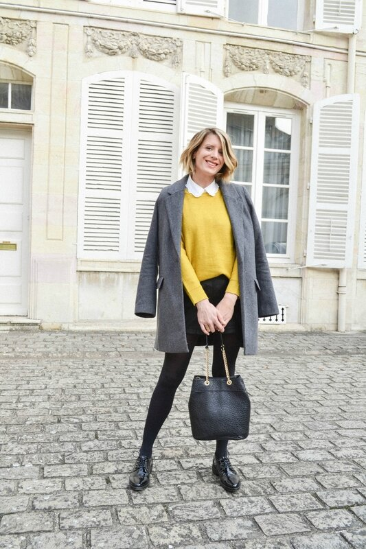 Preppy in yellow - Styl iz (3)