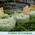 Mousse de kiwi au wasabi pour miss languedoc