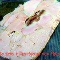 Le foie gras a l'ancienne de mon papa