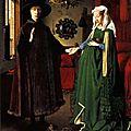 1ère RENAISSANCE 1434_Portrait des époux Arnolfini_Van Eyck
