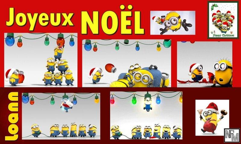 Carte Noël Loann 2016
