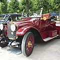 Benz 8/20 ps jagdwagen roadster 2 places 1914