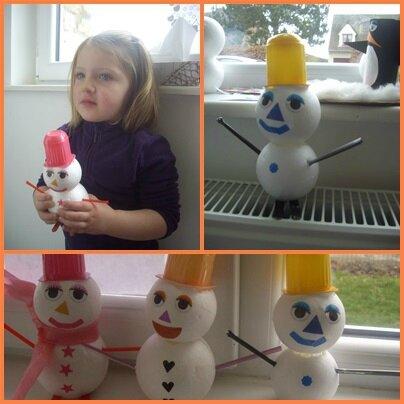 page instant bonhomme de neige