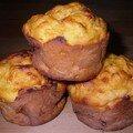 Muffins carotte pastèque