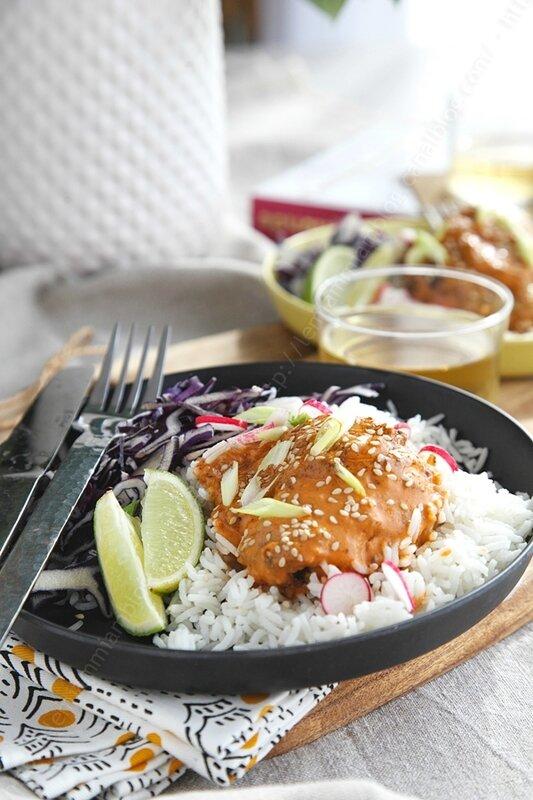 poulet makhani poulet au beurre curry 0004