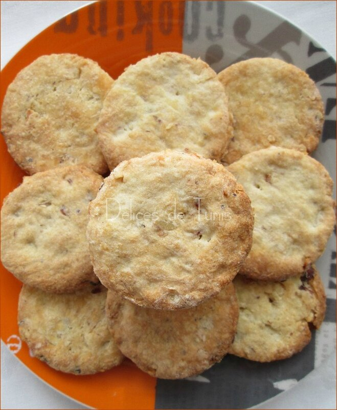 Biscuits aux fruits secs 1