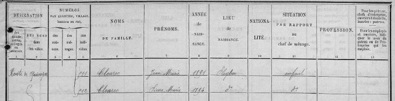 Recensement 1906 Pleyben_1
