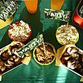 water battle gamer party anniversaire garçon bataille d'eau camouflage articles de fête Vegaooparty buffet (11)
