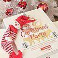 Revue : le livre christmas party