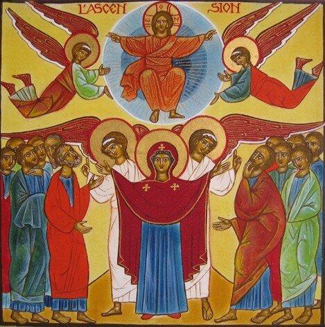 17 Jésus monte au Ciel