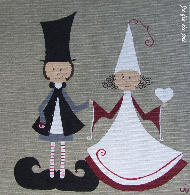 Les mariés Mûre Framboise