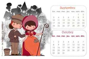 Calendrier SEPT-OCT12