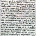 La toile columérienne à l'honneur dans les pages papiers du http://www.lepaysbriard.fr