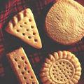 Scottish shortbread ou sablés écossais (sans oeuf)