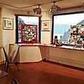 Galerie sylvie platini / veyrier-du-lac : exposition collective ***drouet, novarino, lecam, colombo, blin, bressan***
