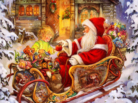 Nice_Christmas_Wallpaper_Santa_Claus