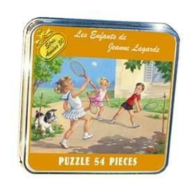 puzzle-retro-jeanne-lagarde-partie-de-badminton