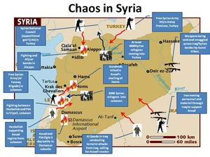 Syria in chaos