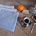 Serviettes de table DENTELLE (5)