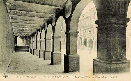 cloître Hôtel de ville St-Cham