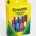 Crayola lance une collection de vernis !