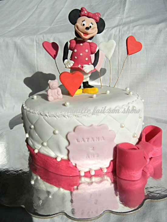 gateau minnie prunillefee 1