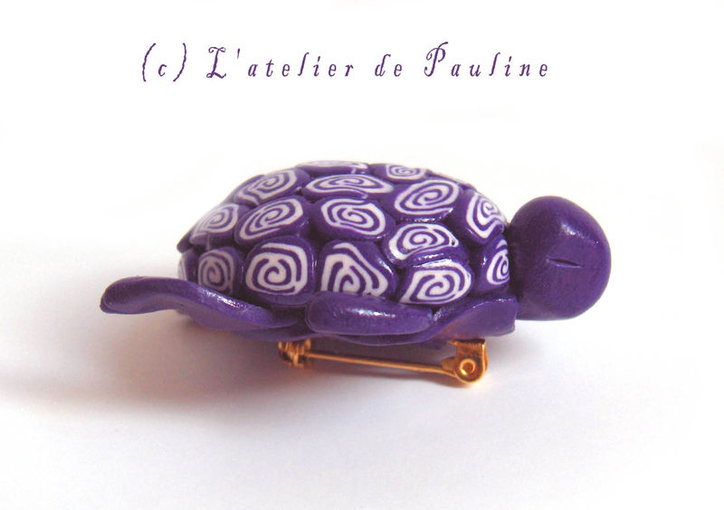 Tortue Violette