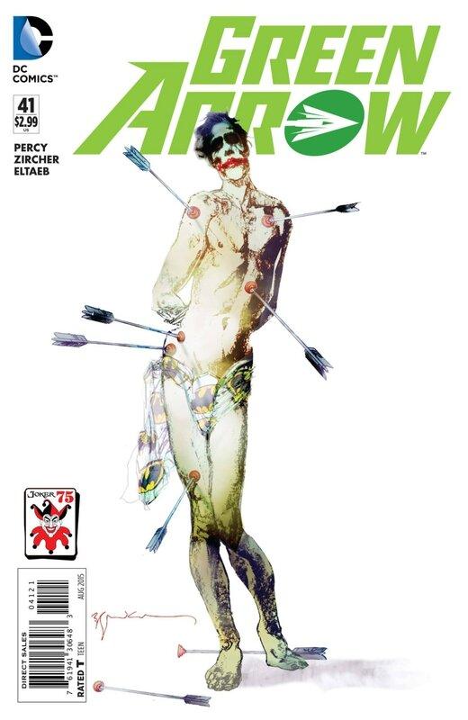 green arrow 41 joker variant