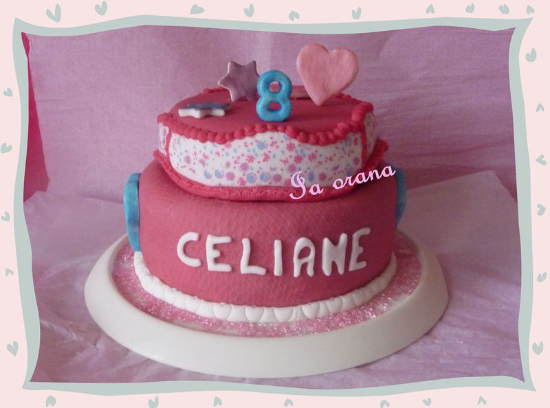 Gâteau fille/Girly cake