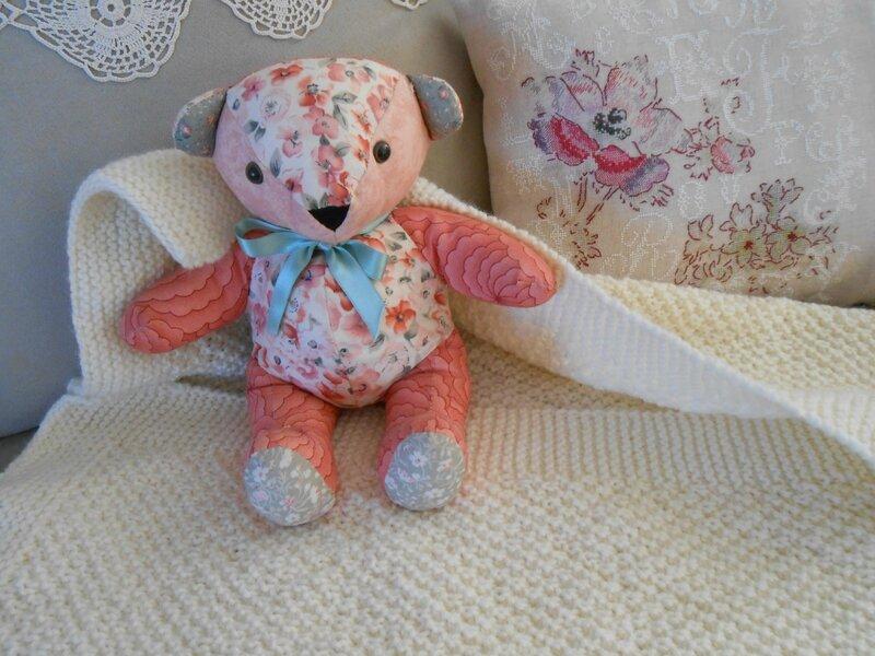 couverture laine tricot