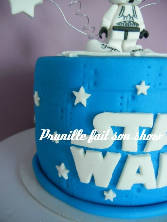 detail gateau star wars prunillefee