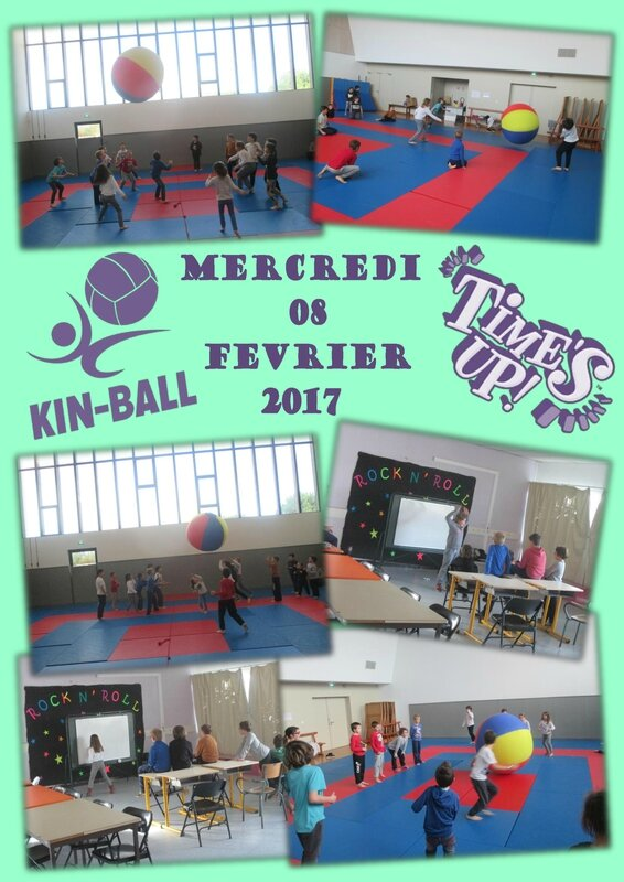 Plaquette Kin-ball Time s Up 08-02-2017