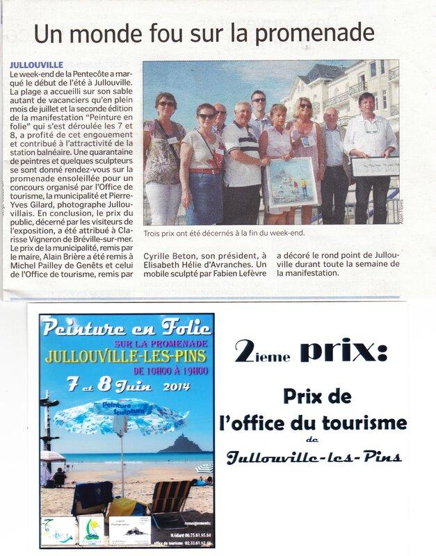 Peinture en folie jullouville elisabeth h lie - Office du tourisme sanary sur mer ...