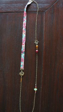 collier liberty oiseau