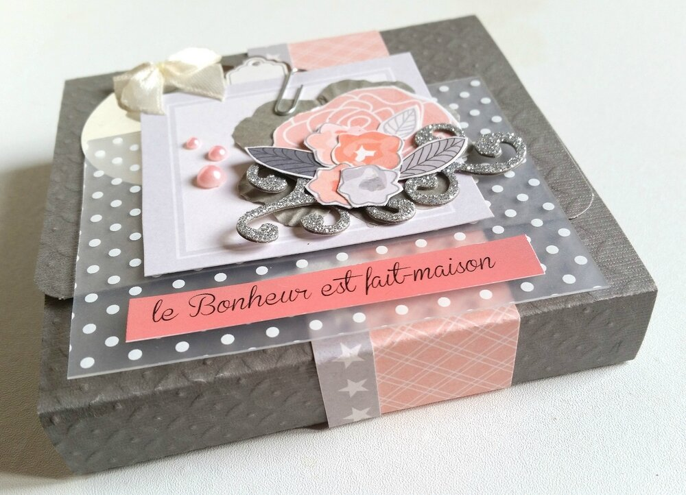 Mini album le bonheur est fait maison par aurore for Album photo maison