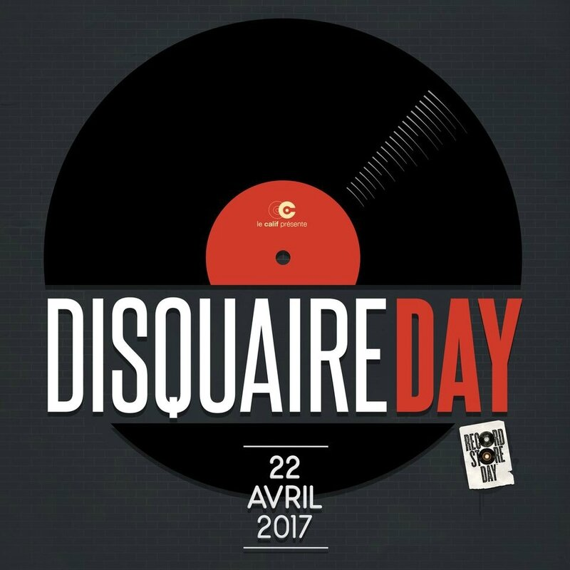 Disquaire Day Record Store Day 2017 logo visuel affiche