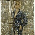 NOUVEAU REALISME 1966_Wrapped portrait of Holly_Christo (et Jean