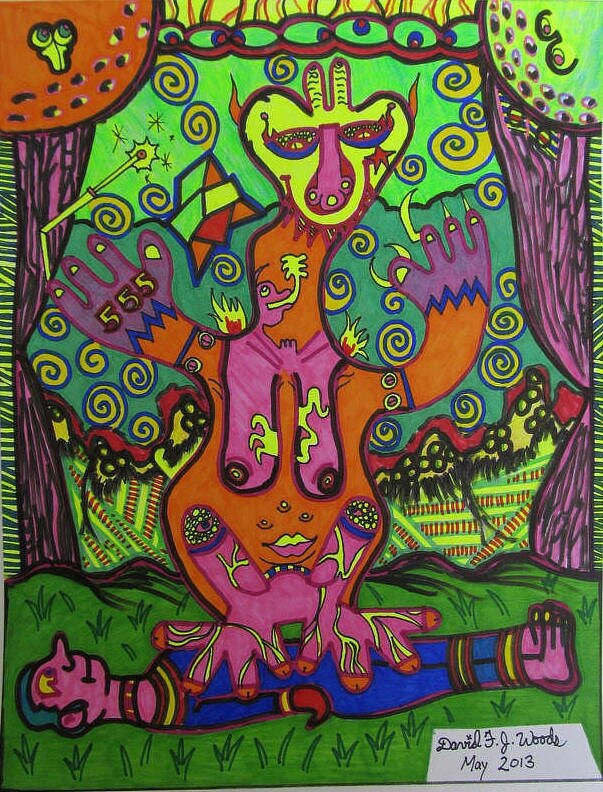 WOODS Meat for the Alien Beast mai 2013 28 x 21,6