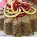 Terrine de champignons aux noisettes
