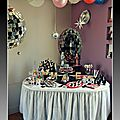 { Pop (rock) star birthday party } les photos de l'anniversaire de star de Prunille {et bien sr de la sweet table ! }