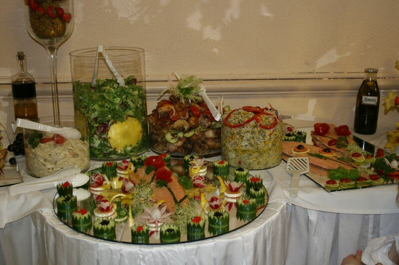 Presentation Buffet Froid Deco
