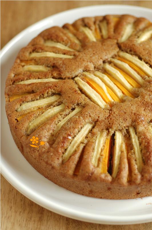 Gâteau noisette, pomme, butternut, quatre-épices_3