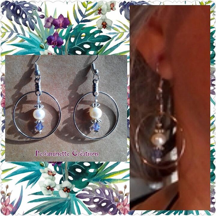 Boucles d'oreilles, anneaux, S