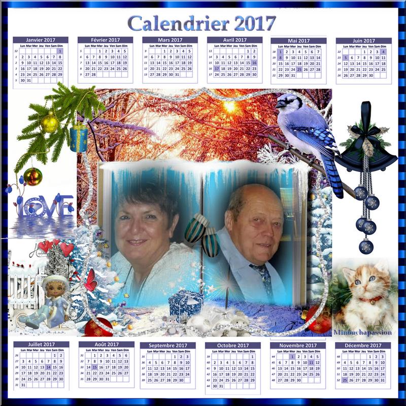 calendrier-2017 flora création minouchapassion