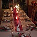 Ma table de noël 2012