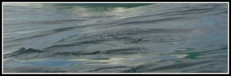 Le mouvement de l'eau...