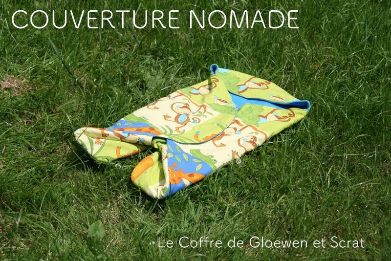 Couverture Nomade Jungle 3