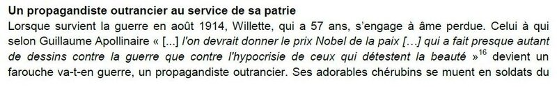 Willette outrancier