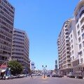Avenue des FAR vers place des Nations Unies Casablanca