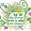 Journée des fleurs pour greenye...et sc 148 crochet en retard....